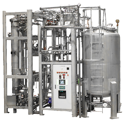 Water Distillation Systems Model ~ Distilled water manufacturing machine compact m